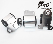 Engine Swap Mount Kit (2-bolt Left Mount) B-SERIES and D-SERIES For EG Chassis