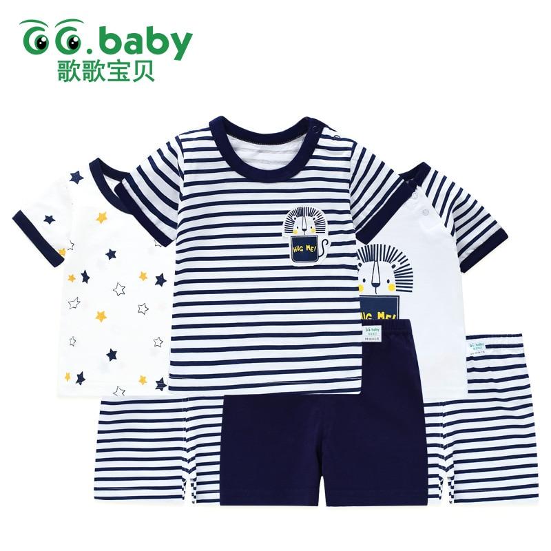 2 قطعة / المجموعة الحيوان بيبي بوي - ملابس للأطفال الرضع