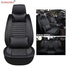 kalaisike Universal font b Car b font Seat Covers for Skoda all models rapid yeti kodiaq