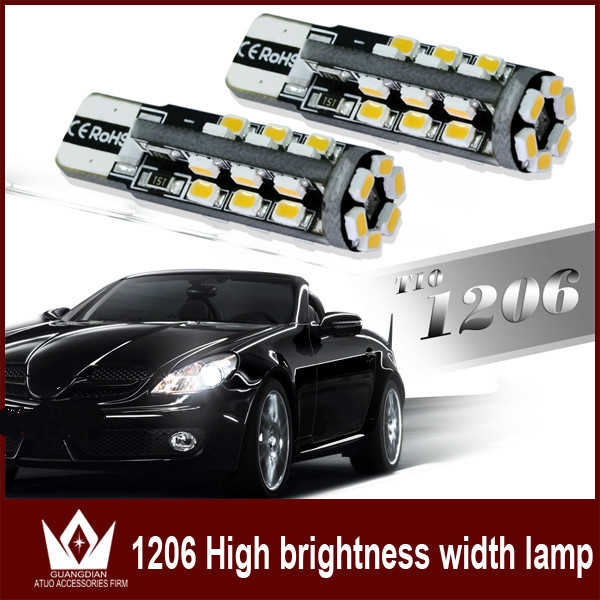 Guang Dian Car Light Led Warning Clearance Side Read Light Lamp Interior light Door light T10 1206 W5W 10pcs 50pcs 100pcs guang dian car interior lamp roof bulb