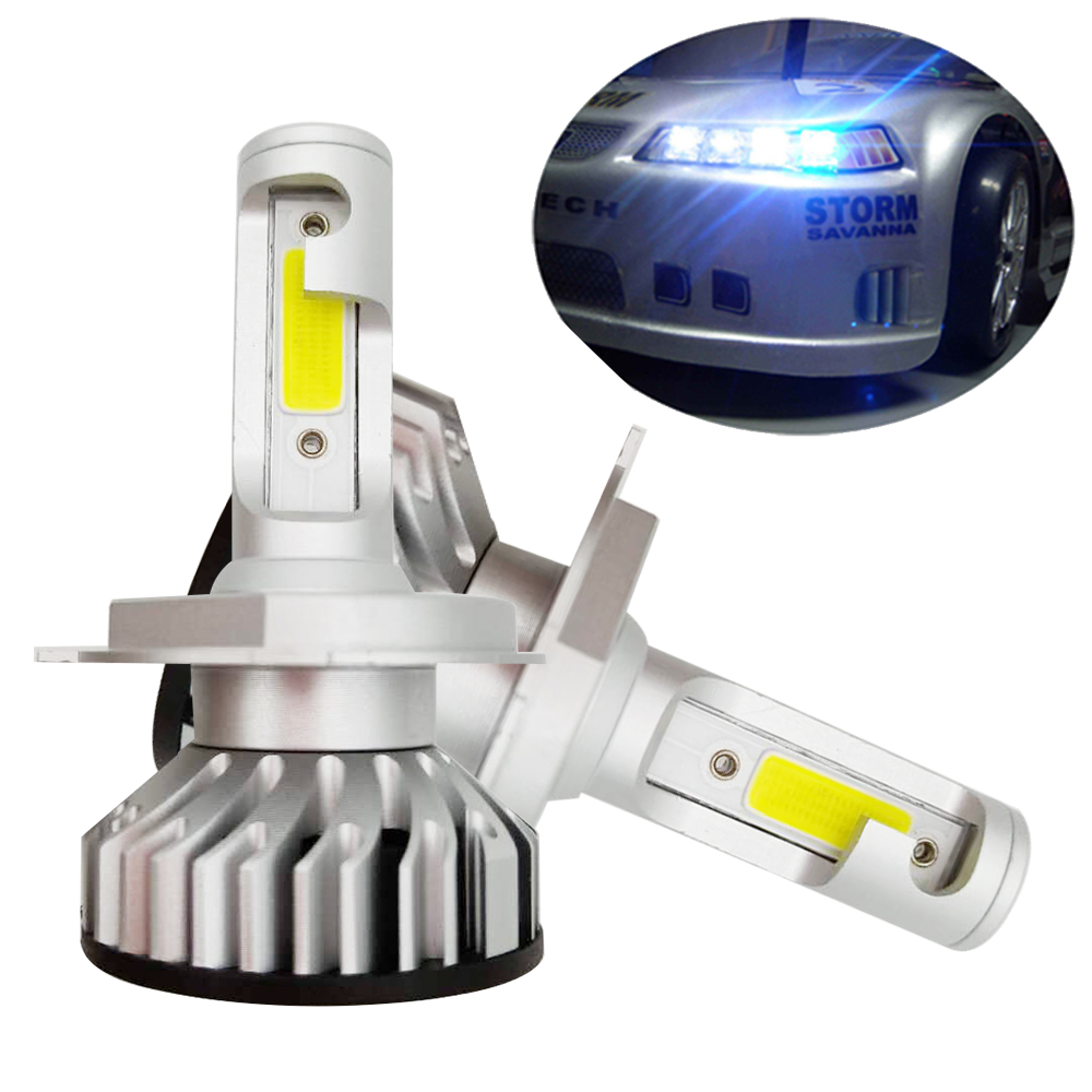 All One Kit Auto Moto H9 12000 Lm Canbus Led Lampade In 6000k Full j435LqAR