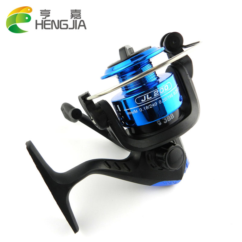 HENGJIA Folding Spinning Fishing Reel Lure Wheel Vessel Bait Casting Flying Fishing Trolling High Speed G-Ratio 5.2:1