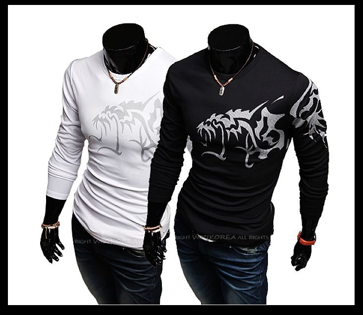 Mens Slimming T Shirts