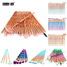 Eye Lip Concealer Face Colorful Brush Kit