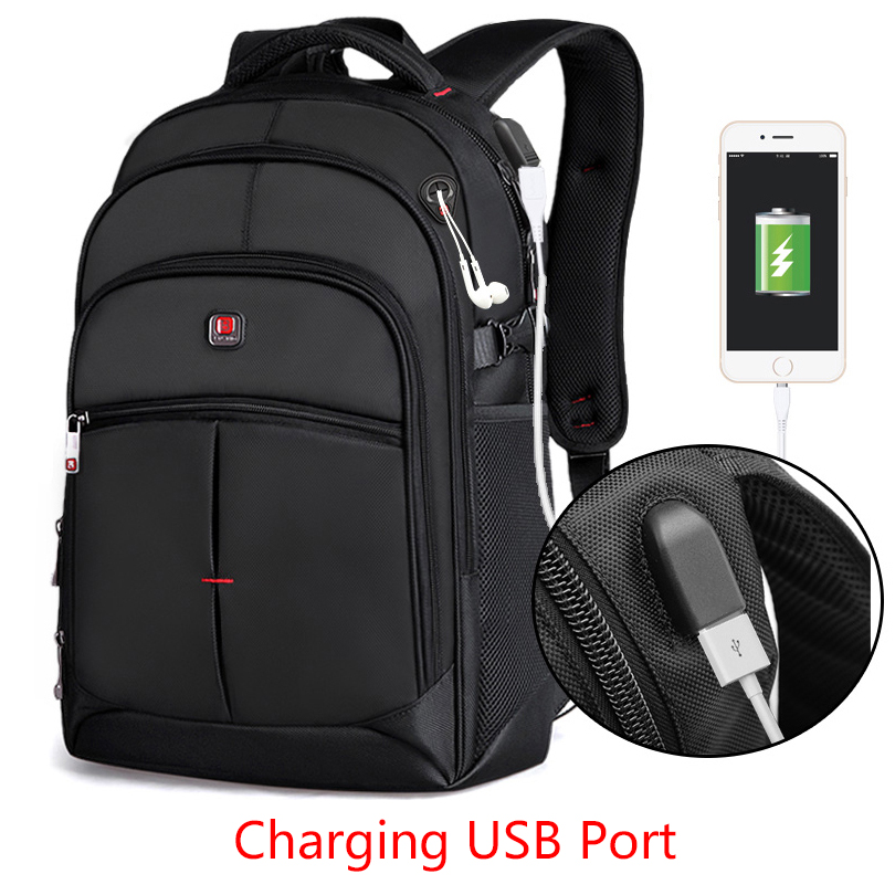 BALANG New Anti thief USB Backpack 15.6inch Laptop Backpack for Women Men School Backpacks Bag for Boy Girls Male Travel Mochila-in Backpacks from Luggage & Bags    3