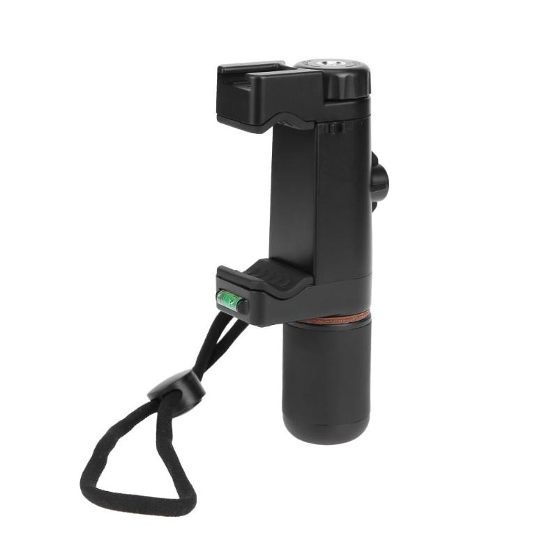 ALLOYSEED Handheld Smartphone Stabilizer Hot Shoe Phone Clip Clamp Holder Stand Bracket Hand Grip Tripod Head Mount Adapter kacytoolscp001 holder adapter clip krab grip mount stand tripod bracket for camera flash light clamp laser level measuring tools
