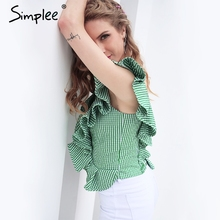 Sexy Sleeveless Shirt For Women
