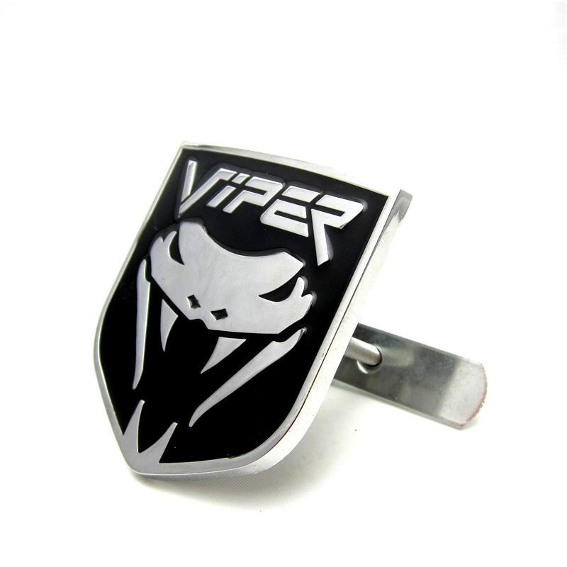 Chrome Cobra Aluminium Allloy Car Auto Styling Front Hood Grille Emblem Body Sticker for Dodge Viper