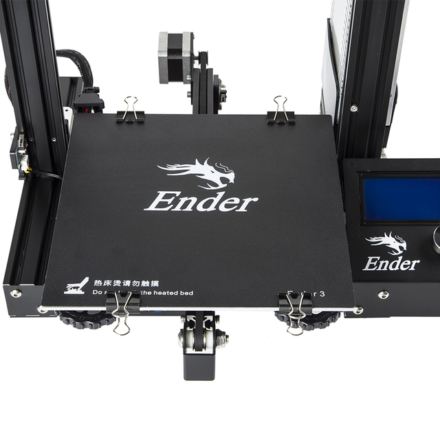 cheap 3d printer Creality Ender3/Ender-3X Upgraded Tempered Glass Optional