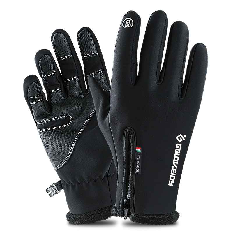 Winter Gloves Touched Screen guantes ciclismo Keep Warm cycling Gloves Sport Running Bike Gloves for Men Women luva ciclismo цена