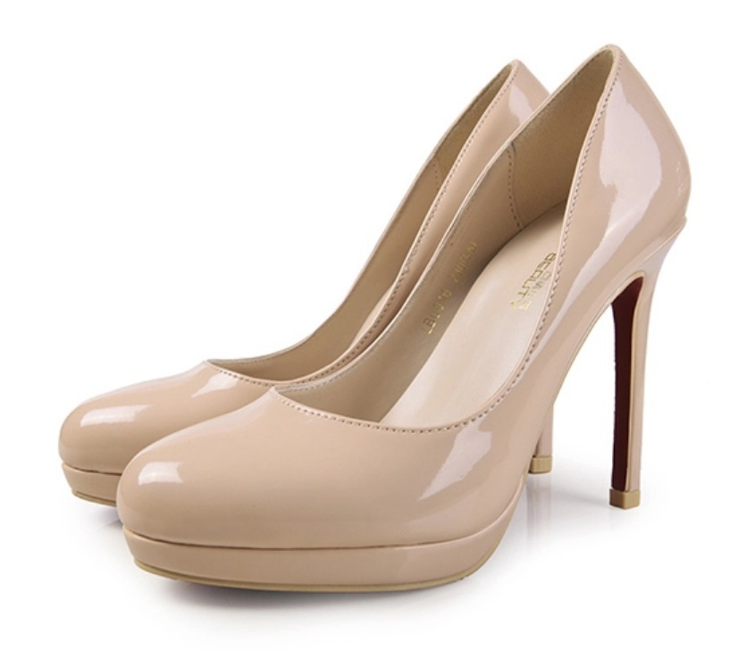 Aliexpress.com : Buy Plus Size 34 42 10 Round Toe Platform Pumps ...