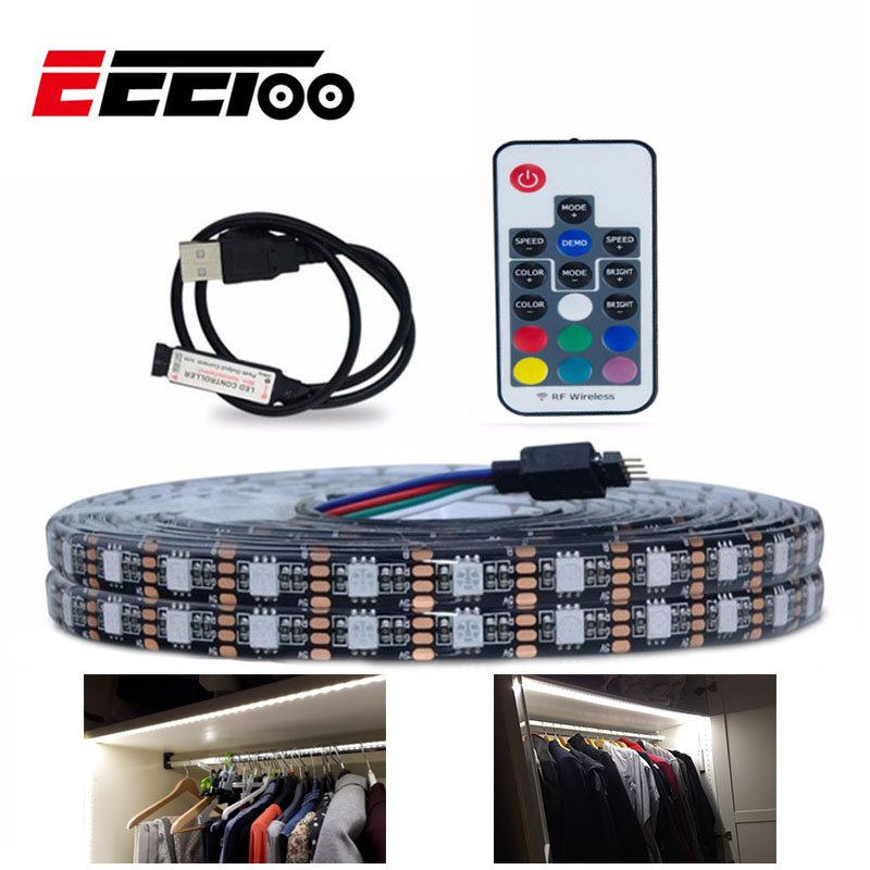 EeeToo LED Under Cabinet Light RGB Tape Bedroom Lamp Waterproof Easy on kitchens with recessed lights, kitchens with wet bar, kitchens with granite, kitchens with flooring, kitchens with pendants, kitchens with shaker style cabinets, kitchens with light fixtures, kitchens with tall cabinets, kitchens with back splash, kitchens with island, kitchens with gas range, kitchens with appliances, kitchens with mirrors, kitchens with dishwasher, kitchens with knotty alder cabinets, kitchens with vaulted ceilings, kitchens with pantry, kitchens with rope lights, kitchens with fireplace, kitchens with cherry cabinets,