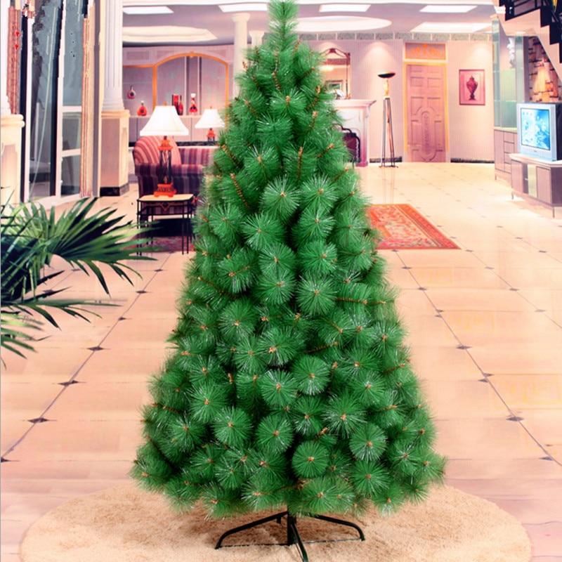 Christmas Tree Needles: New Year Gift 1.5m / 150cm Pine Needles Christmas Tree