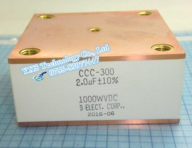 Бесплатная доставка!!! 1 шт. индукционного нагрева 500A 700VAC 2 МКФ 500 КГц водяное охлаждение резонанс конденсаторы