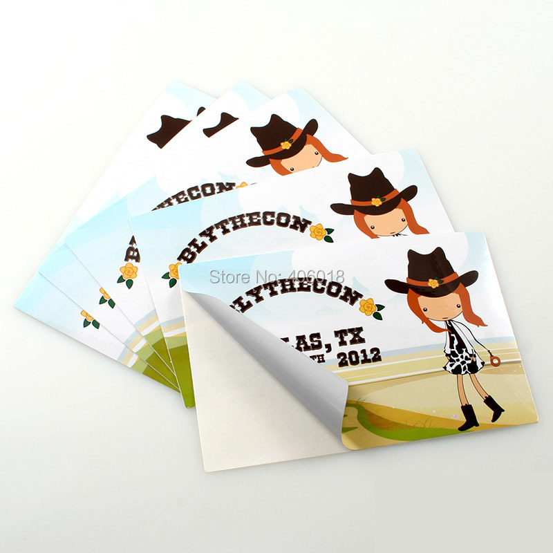 Aliexpresscom Buy Removable Custom Sticker Printing On Sheet - Custom die cut vinyl stickers printing