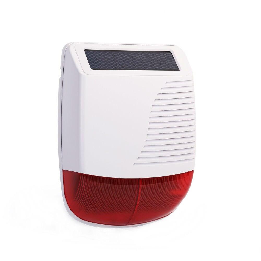Yobang безопасности беспроводной 3 г сигнализация Смарт Wi Fi магазин домашней alarmsysteem с IP камеры ПИР датчик движения Солнечный Siren сигнал тревоги - 5