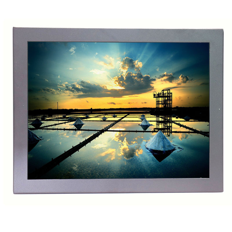 G12 Metal shell 12 inch hdmi input lcd monitor 4:3 cheap tft lcd monitor with vga interface