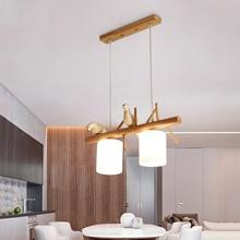 Nordic Light Led Pendant Lights Modern Restaurant Bird Decor Luminaria Hanging Lamp Living Room Cafe Kitchen Fixtures Lighting