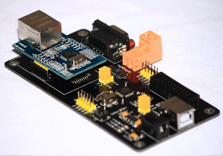 W5500 development board The Ethernet module Ethernet development board