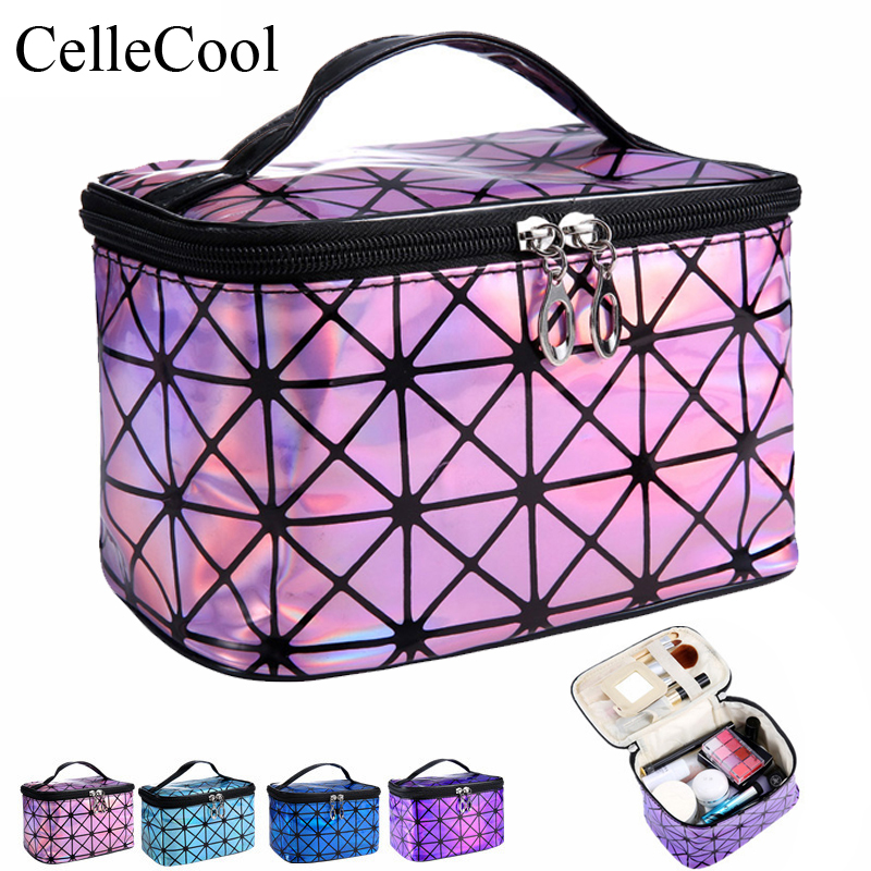 Multifunction Travel Cosmetic Bag Women Makeup Bags Toiletries Organizer Waterproof Female Storage Make Up Cases(China)