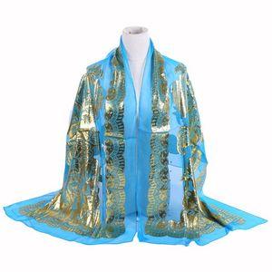 Image 5 - Seda jacquard cachecol xale mulher islâmica hijab muçulmano amoreira seda hijab étnica ultraleve foulard lenço acessórios femininos