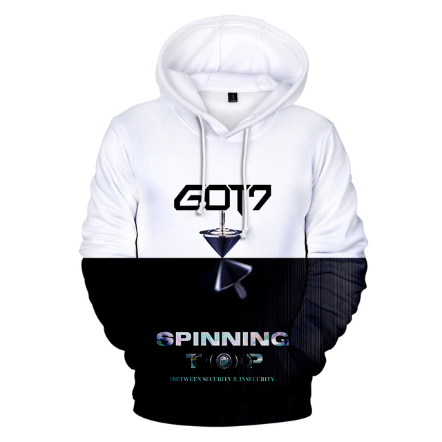 GOT7 WORLD TOUR 3D HOODIE (9 VARIAN)