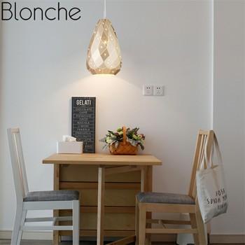 Скандинавские светодиодные подвесные лампы, креативные подвесные светильники, современная личность для дома, спальни, гостиной, кухни, Дек...