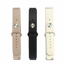 Original replacement strap for B57 smart watch Silica gel Milan Steel Strap(China)