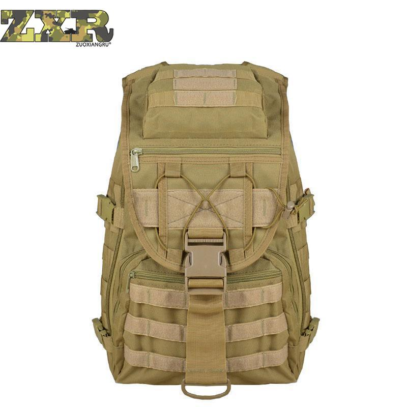 Durable Waterproof Nylon Backpacks Men Military Tactical Rucksack High Capacity Trekking Hiking Back Sac Men Travel