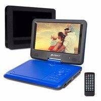 Pompoen 9 Inch Auto Hoofdsteun Dvd-speler Draagbare DVD Auto Monitor 800*480 Verstelbare Hoek Digitale Tft-scherm Met Afstandsbediening