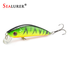 Minnow Crankbait Hard Bait Tight Wobble Slow sinking Jerkbait 7cm 8.5g High Quality ABS Fishing Lure