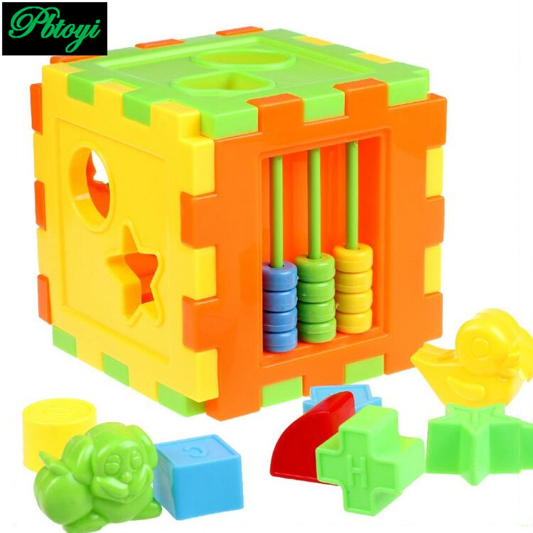1pcs 2017 new toys plastic model building kits 10 shapes for Cost of building blocks in jamaica 2017