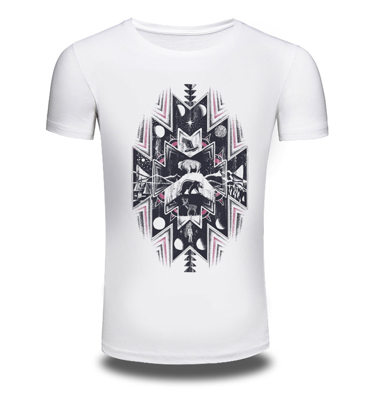 New Brand Clothing Anime 3D Print Men Short Sleeve T Shirt Men Shirts Top T-shirt Off White Summer T-shirts Sale Items AW244