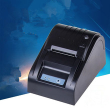 5890T printer Black and white Wholesale quality 58mm thermal receipt printer machine printing speed 90mm / s USB interface
