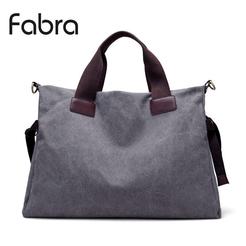 Фабра Европейский Стиль Винтаж холст Для женщин Дорожные сумки вести Для женщин вещевой мешок руки сумка большой выходные большая сумка се... ...