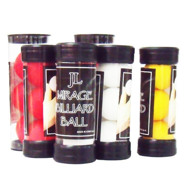 (4 cm) JL corée du sud une balle à quatre balles importées authentiques pour les boules rouges moyennes tours de magie jouets magiques
