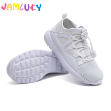 Kids Shoes For Boys Brand Comfortable Sneakers Children Girls Slip-ON Breathable Spring Mesh Girls Sneakers Boys Black Shoes