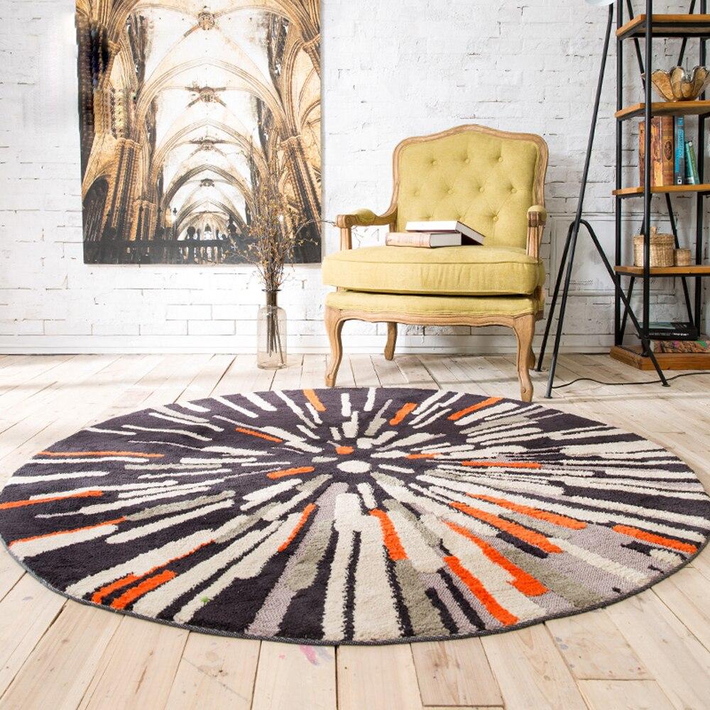 la abstraccin geomtrica ronda alfombra dormitorio sala de estar d decorador de casa piso alfombra