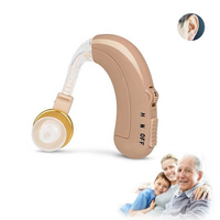 Rechargeable BTE Hearing Aid Sound Voice Amplifier O N H Adjustment Analogue Hearing Device Care Dropshipping
