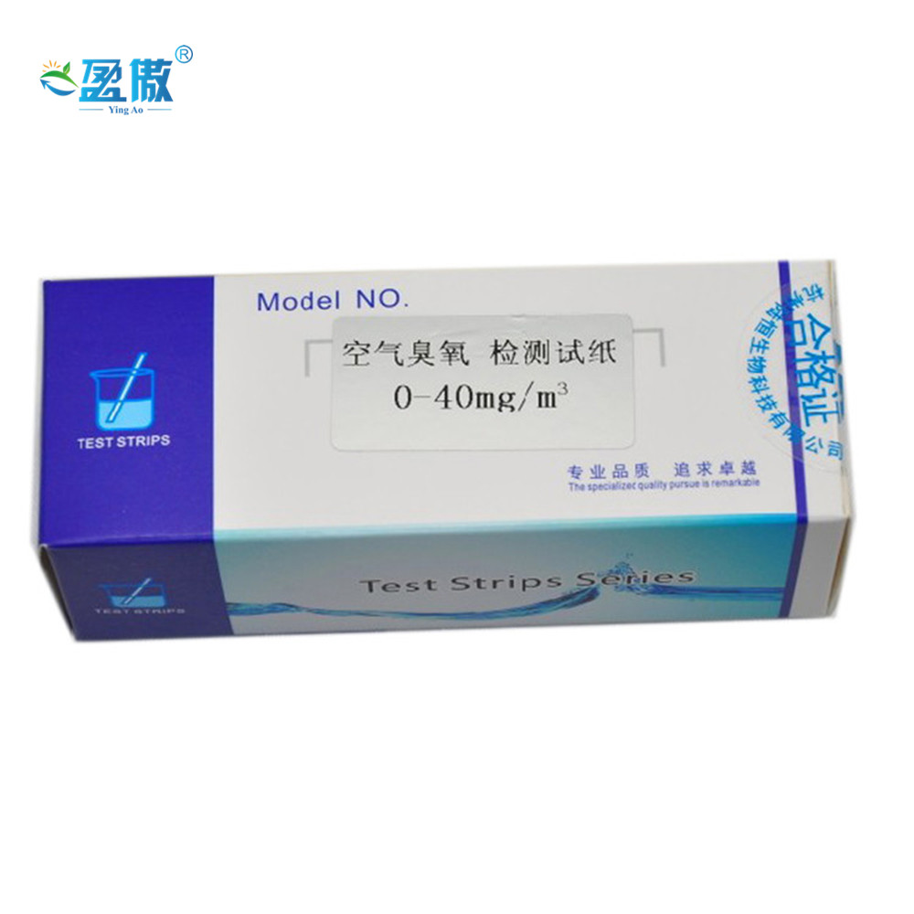 Ozone(in air) Test Paper Using for Industrial Disinfection Test Paper PH Meter
