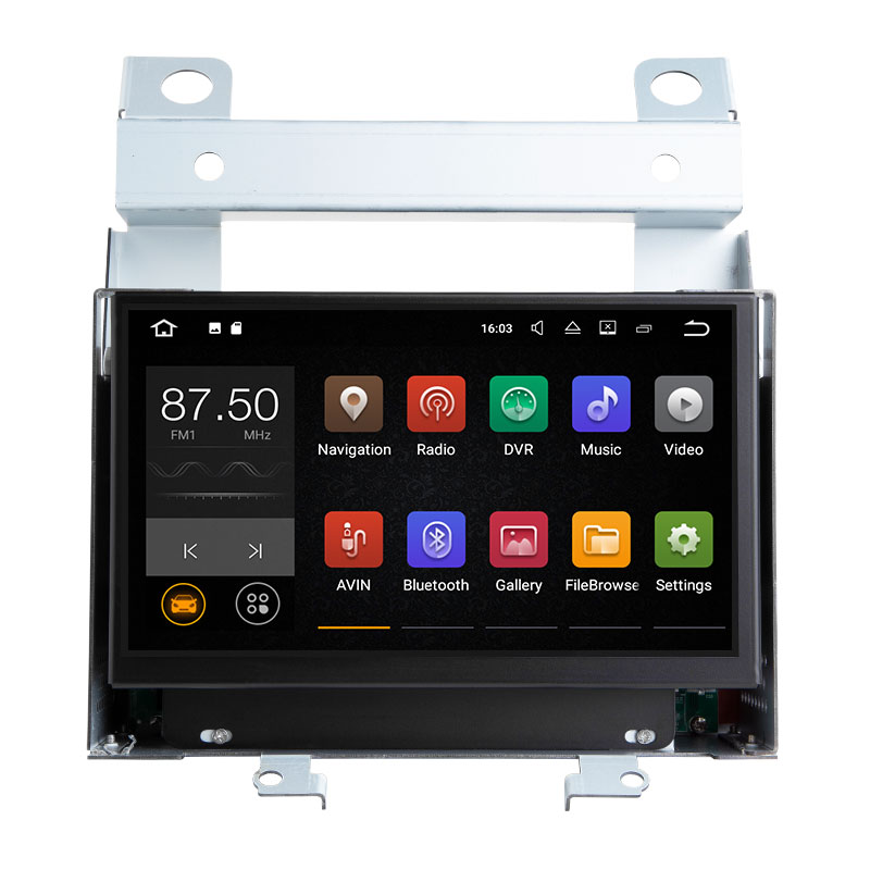 Xonrich Android 8.1 lecteur multimédia de voiture pour Land Rover Freelander 2 2007 2008 2009 2010 2011 2012 GPS unité de tête Radio DAB Wifi