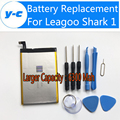 Leagoo Shark 1 Battery 100% New High Quality Larger capacity 6300Mah Battery Replacement Backup Battery For Leagoo Shark 1