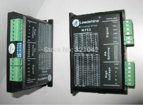 Leadshine M752 Stepping motor driver dc18-80v,1.26~5.2A,Reliable 2-4 phases stepper motor controllers leadshine am882 stepper drive stepping motor driver 80v 8 2a with sensorless detection