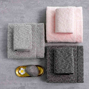 Image 4 - Xiaomi Towel COMOLIVING Tianyi Cotton Snowflake Yarn Towel/Bath Towel 100% Cotton 3 Colors Highly Absorbent Bath Face Hand Towel