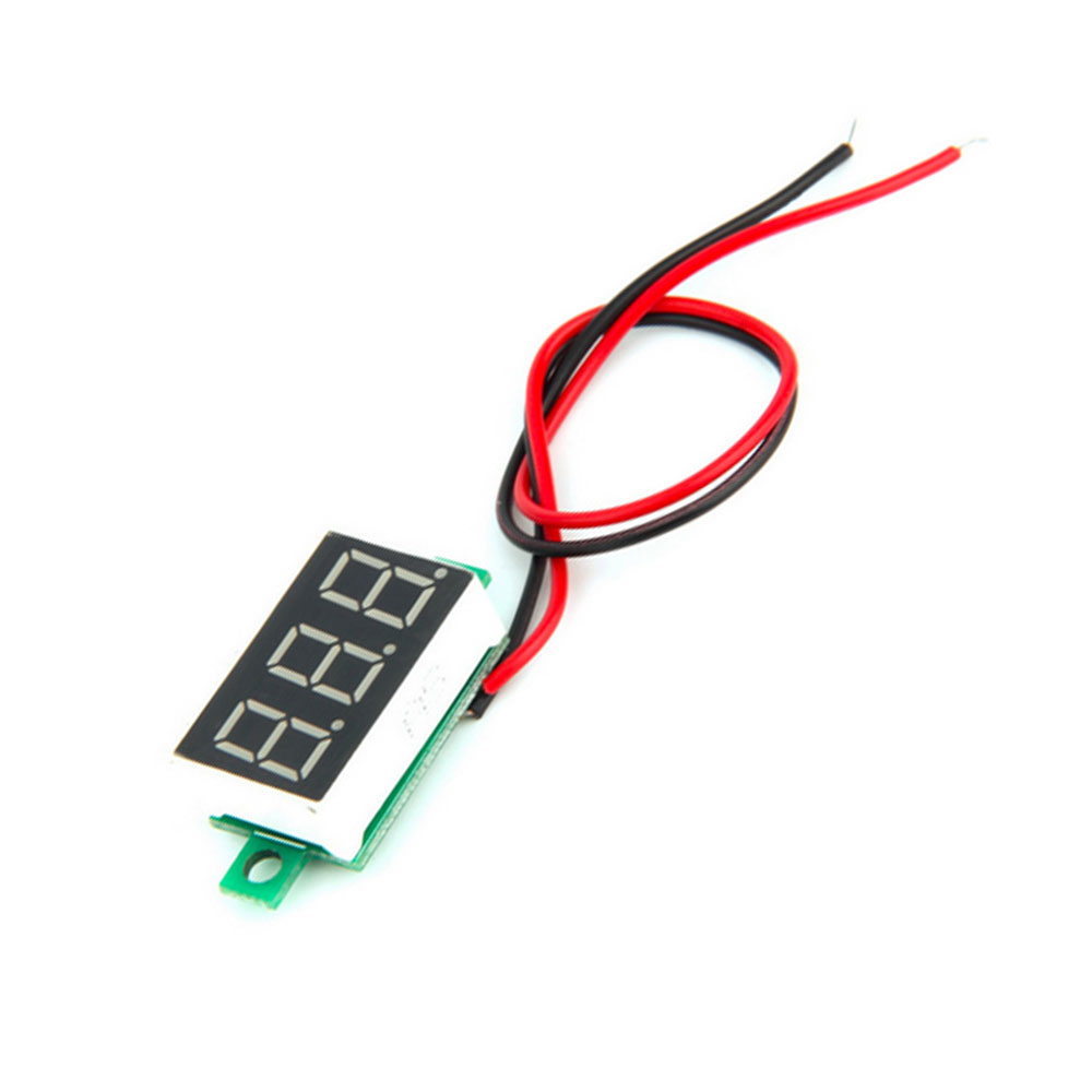 hight resolution of 1pc two lines wire digital dc car voltmeter lcd digital ammeter red led amp amperimetro meter gauge meter dc free delivery in interior mouldings from