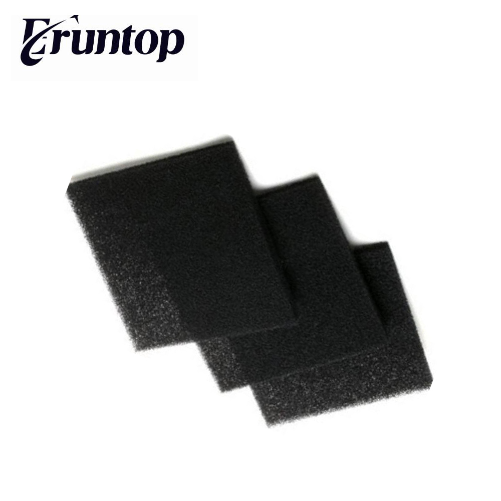 5PCS  13cm X 13cm Activated Carbon Filter Sponge For Hakko Somking Absorber 493