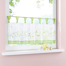 1 Pcs Window Curtain Valance Short Design Decoration For Kitchen Home Cafe Room Hot Sale