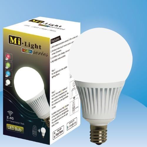 E14 5 W AC86-265V 350-370LM RGBW Milight Series Divisão Grupo RGB + branco RGB + Branco Quente Wifi 2.4 Ghz Lâmpadas LED FUT013