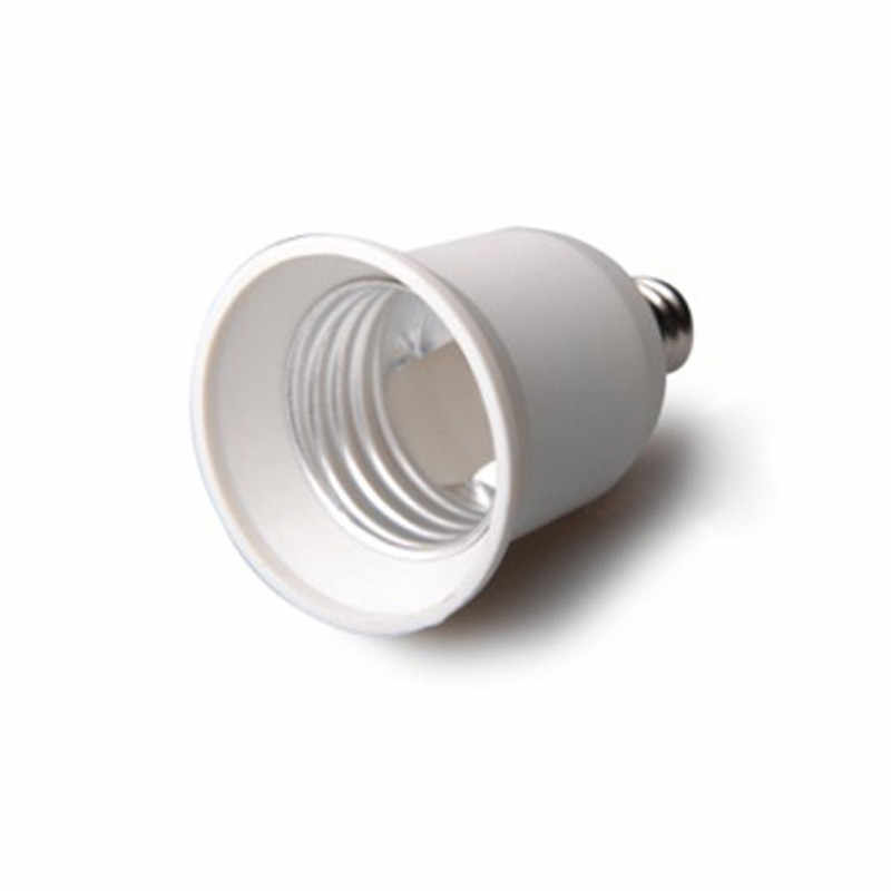 Lampu Pemegang Converter E12 ke E27 Socket Basis Jenis Tahan Api Adapter Untuk Halogen/Led Lampu Bulb Gratis Pengiriman
