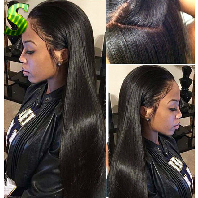7A Silk Top Full Lace Wigs Glueless Full Lace Human Hair Wigs For Black  Women Brazilian Virgin Hair Silk Base Top Lace Front Wig aead646906